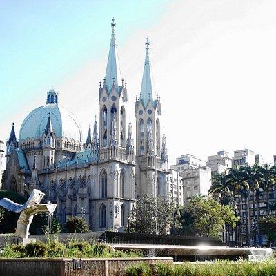 Catedral Metropolitana de São Paulo. Praça da Sé - São Paulo