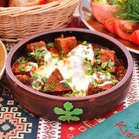 Чашушули - телятина с овощами, тушеная в собственном соку