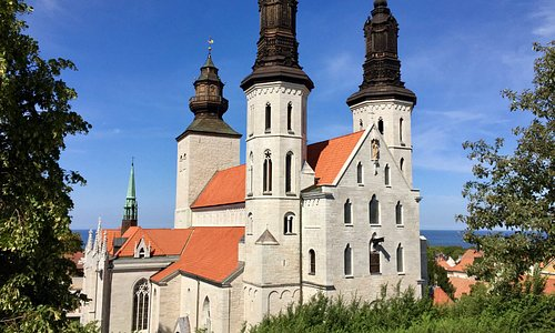 Visby Cathedral, S:t Mary - exterior: from the east.