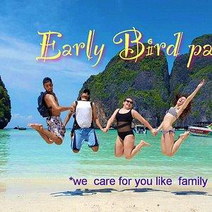 Early Bird Paradise Trip