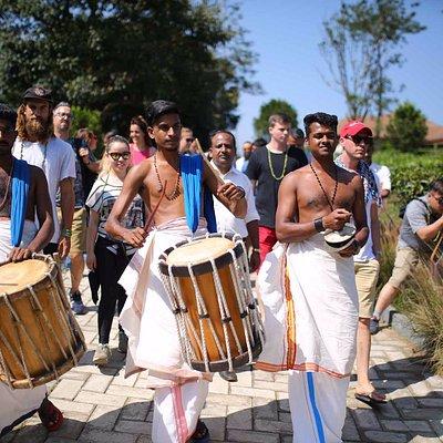 kerala traditional welcome