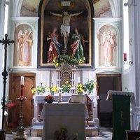 Burgschrofen-Kapelle von innen