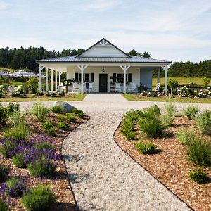 Welcome to the Secret Garden at Brys Estate. A 12-acre agricultural oasis on Old Mission Peninsu