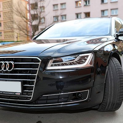 Audi A8L for our VIP customers