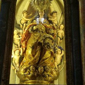 Capilla de la Virgen de los Ángeles.
