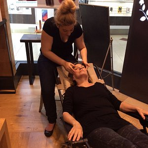 Facials is a service to explain their products! Appointment necessary.