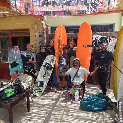 Sidi kaouki Beach Hostel Kitesurfing Camp