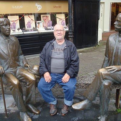Dad with Oscar and Eduard