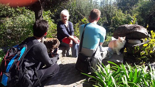 private tour of the garden