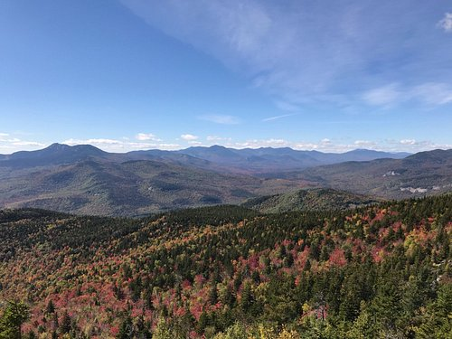 Looking West from the summit of South Moat Mtn.