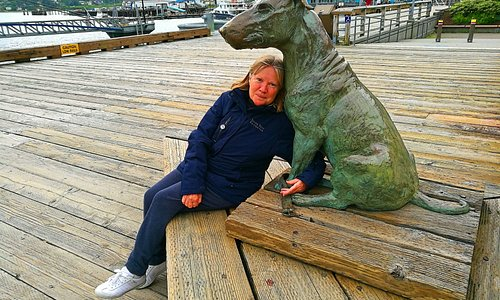 Patsy Ann at the cruise terminal