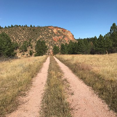 Prairie views from trail