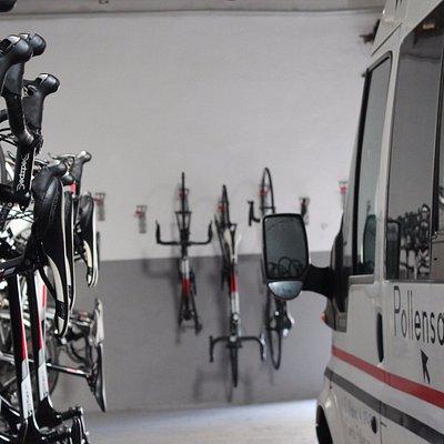 We also deliver bikes