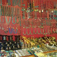 Jewellery and handicrafts at Tibetan Market