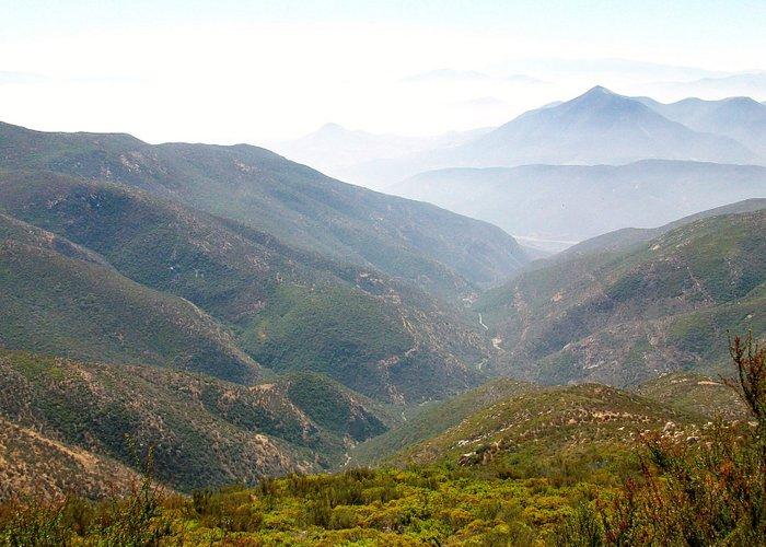 Looking south into Baja California, Mexico