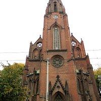Kościół Najświętszego Zbawiciela w Poznaniu -widok zewn.
