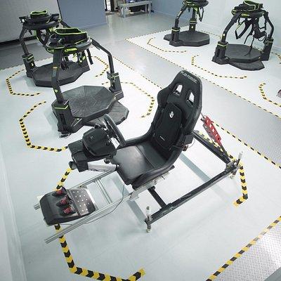 The Lab - Full Motion Simulators