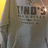 Tino's sweatshirt