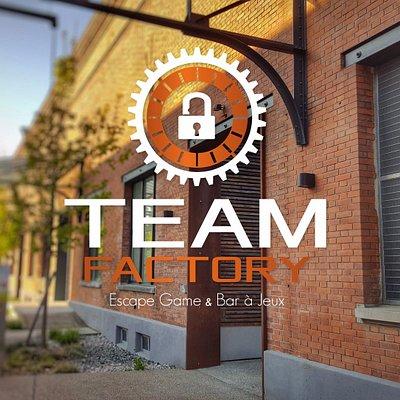 Retrouvez TEAM FACTORY au cœur de l'ancienne usine textile DMC à Mulhouse.