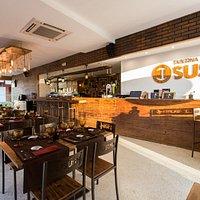 Espaço taberna do Sushi