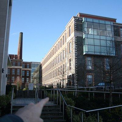 Museum building.