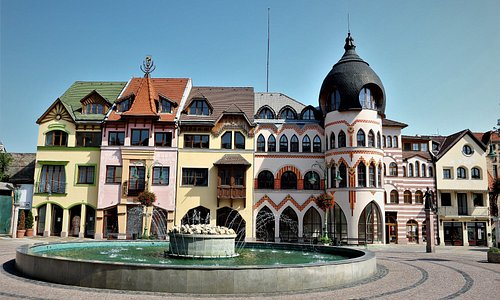 The courtyard of Europe Komarno 2