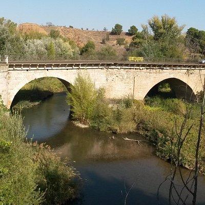 Вид на арабский мост