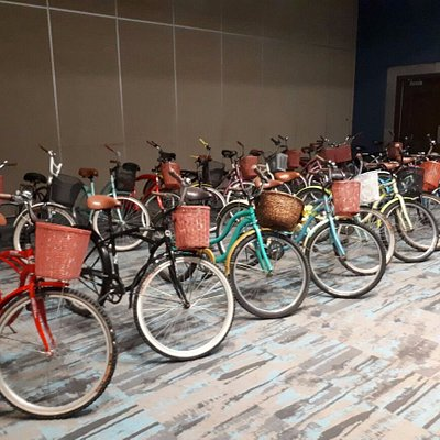 We now have 50 bikes!