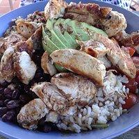 Chicken, Quinoa and Brown Rice