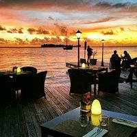 Sunrise and Sunset times at Bora Bora Yacht Club...
