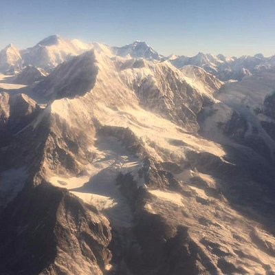 This photo is taken from Mountain Flight.