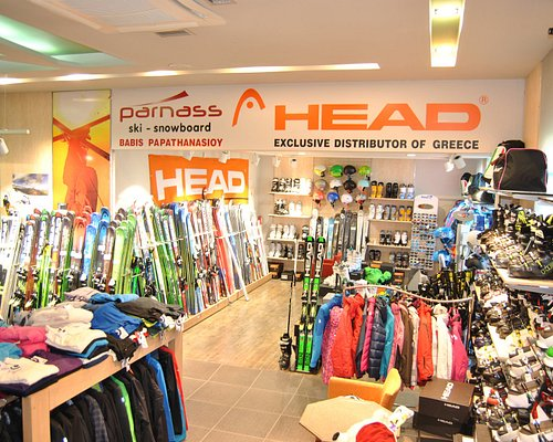 κατάστημα σκι - Αποκλειστικός αντιπρόσωπος Ελλάδας HEAD