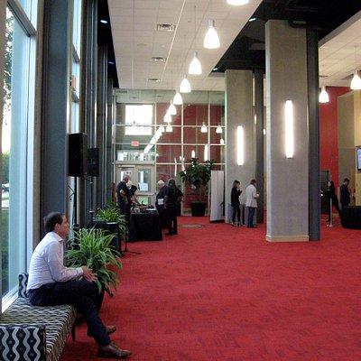 Schrott Center lobby