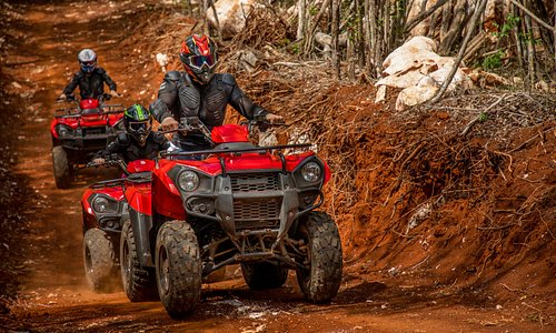 Enjoy the ATV tour through the Mayan jungle
