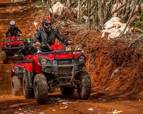 Enjoy the ATV tour through the Mayan jungle