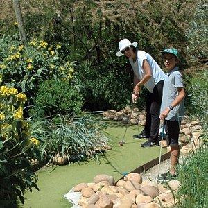 Mini Garden Golf Trou N°14