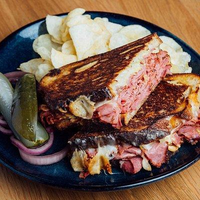 Our biggest seller! The Reuben Sandwich!