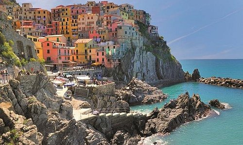 The best of Cinque Terre & Portovenere with Typical Ligurian Lunch
