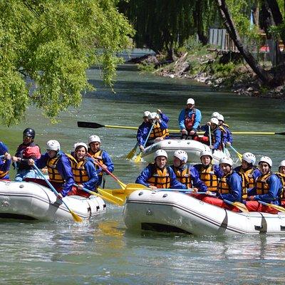 Rafting clase II apto para todas las personas seguridad y diversión garantizada, viví tus vacaci
