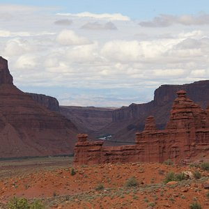River fiew from the Fisher Towers area.
