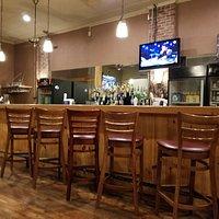 back bar at Boondocks