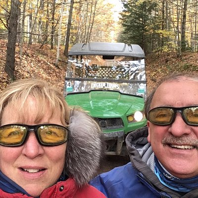 On the trail with Decker Tours 10-14-17