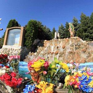 """Cerrito"" of Guadalupe in the Plaza of the Shrine"
