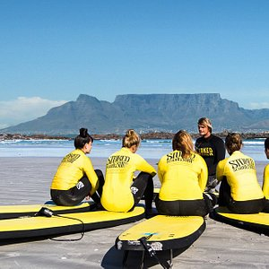 What a back drop for your surf experience!