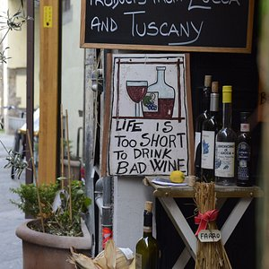 Life is too short to drink bad wine ...