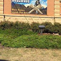 Entrance to city of Deadwood, South Dakota