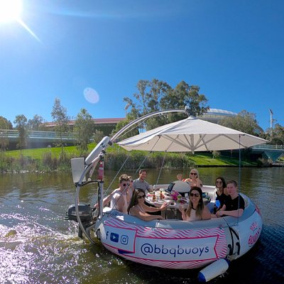 Fun Afloat on the River Torrens in Adelaide