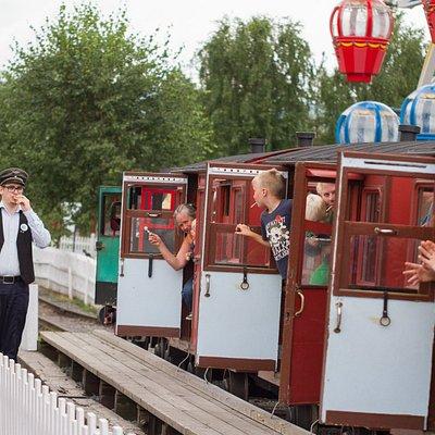 Toget i Lilleputthammer