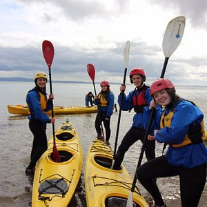 Youth Group Kayaking with Inish Adventures