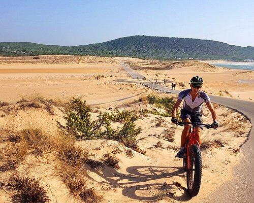 Fat Bike tour. Cape Trafalgar.
